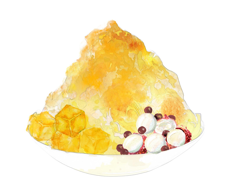 豆乳かき氷
